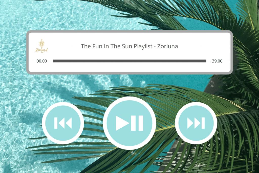 The Fun In The Sun Playlist by Zorluna