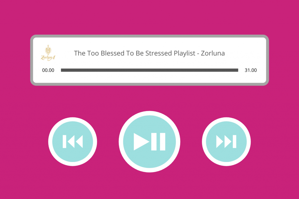 The Too Blessed To Be Stressed Playlist by Zorluna