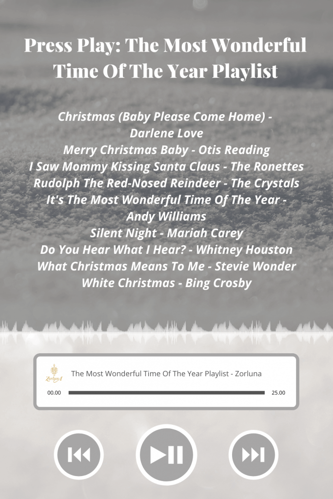 Press Play: The Most Wonderful Time Of The Year Playlist